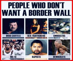 People Who Do Not Want A Wall