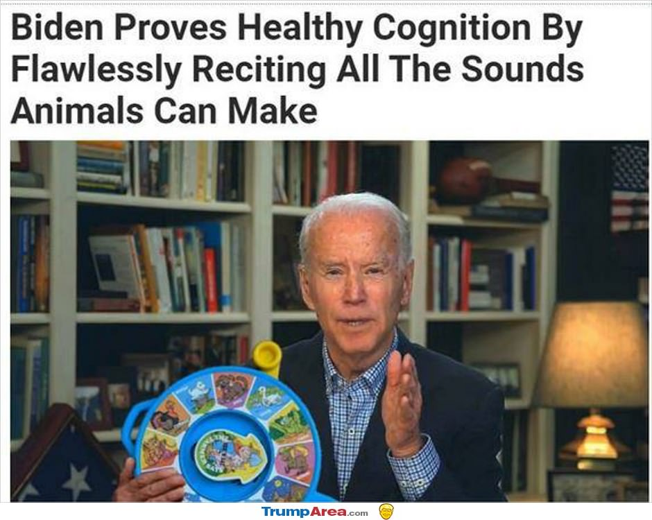 Biden Proves Cognitive Health