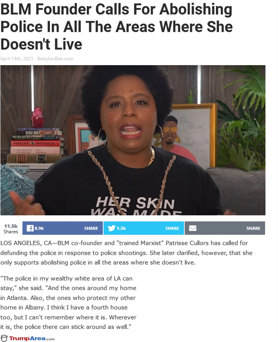 BLM founder