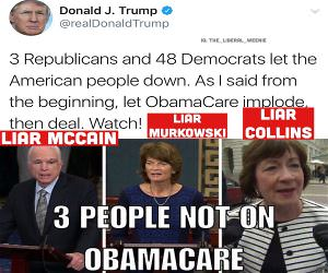 3 People Not On Obamacare