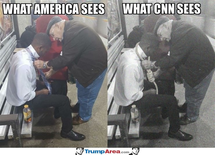 CNN is very fake news