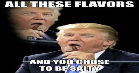all these flavors_t3 all these flavors,All These Flavors And You Choose To Be Salty Meme