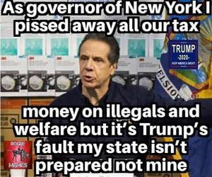 as NY governor