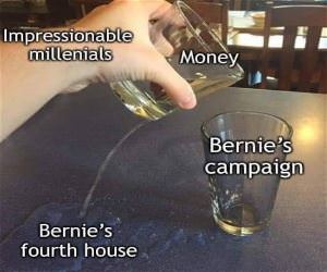 Bernie Needs Another House