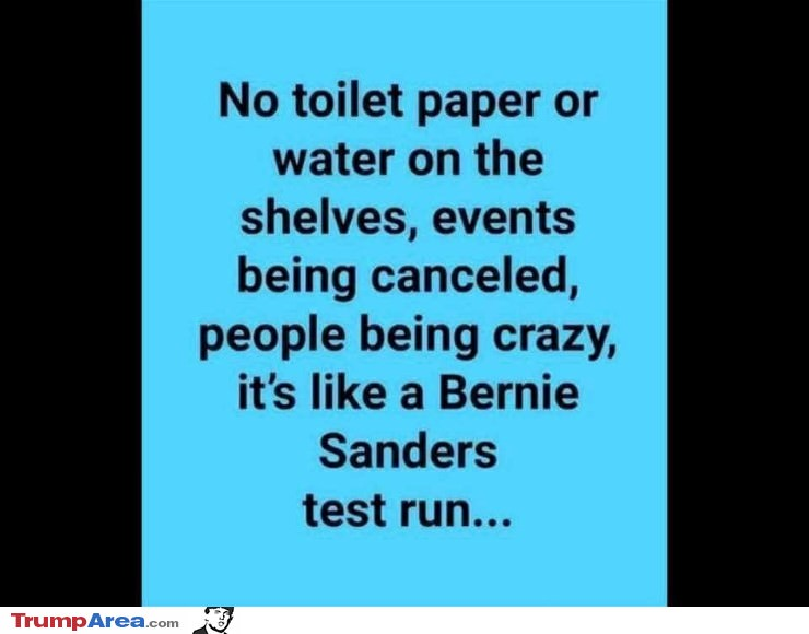 Bernie Sanders Test Run