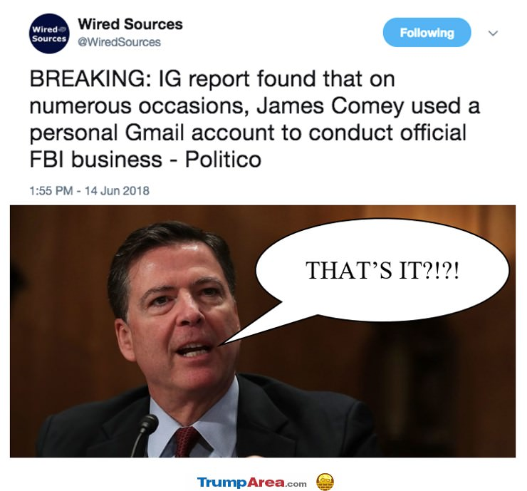 Big Trouble Comey