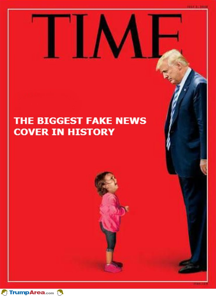 Biggest Fake News Cover In History