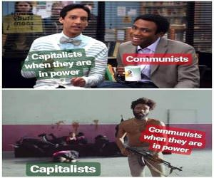 Capitalists And Communists