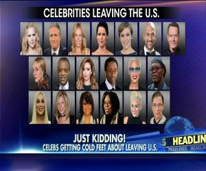 Celebrities That Said They Would Leave If Trump Was Elected