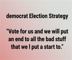 Democrat Election Strategy