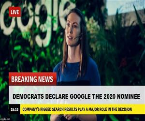Democrats Declare Google The