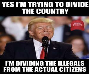 Dividing The Country