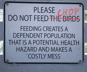 Do Not Feed