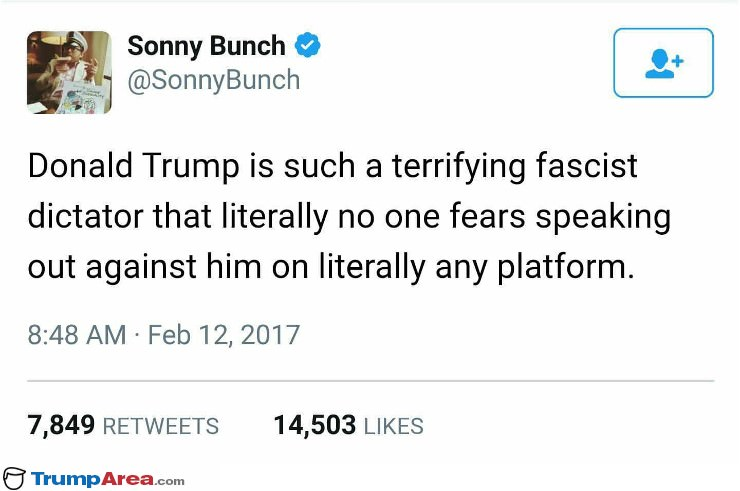 Donald Trump Is Such A Fascist