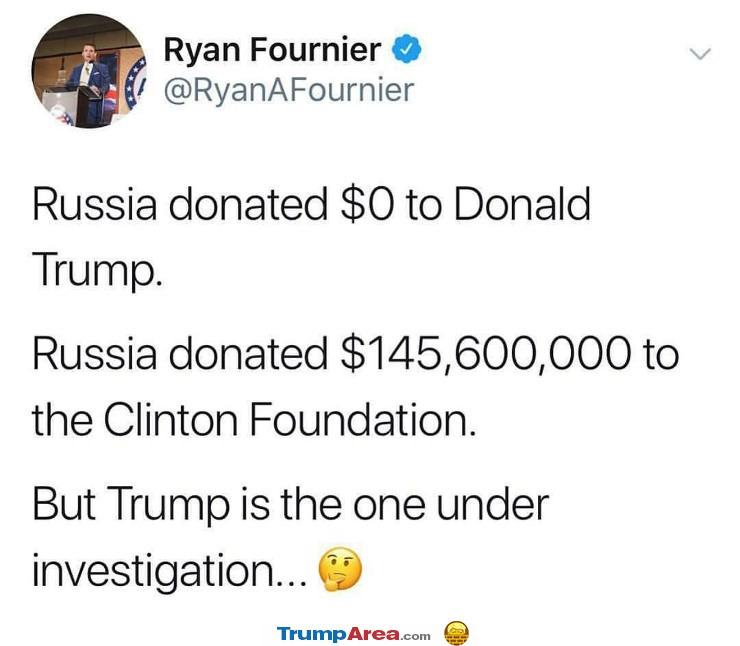 Donations From Russia