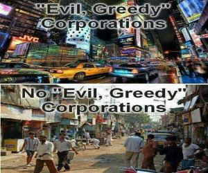 Evil Greedy Corporations