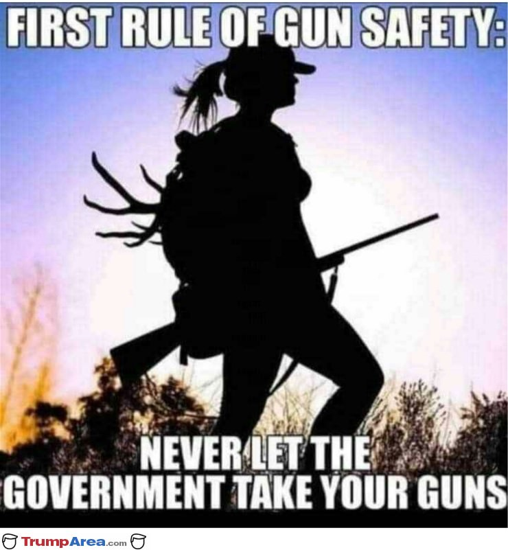 First Rule Of Gun Safety