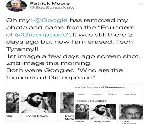 Founder Of Greenpeace