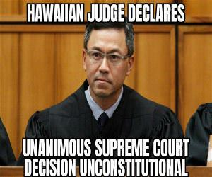 Hawaiian Judge