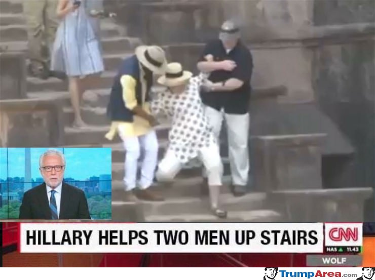 Hillary Helping Them Out