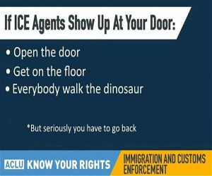 Ice Agents Come To Your Door