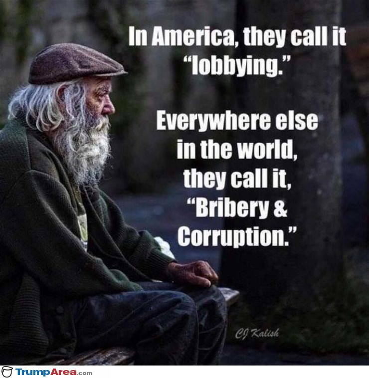 In America They Call It Lobbying