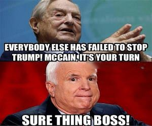 It's Mccain's Turn Now