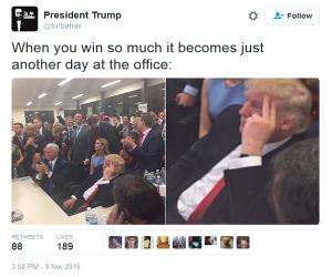 Just Getting Sick Of Winning