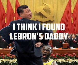 Lebrons Daddy