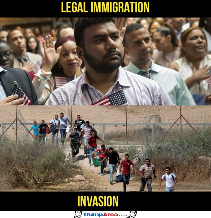 Legal Vs Invasion