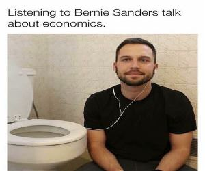 Listening To Bernie