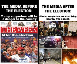 Media Before And After The Election