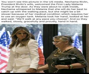 Melania Is A Beautiful Person