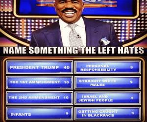 Name Things The Left Hates