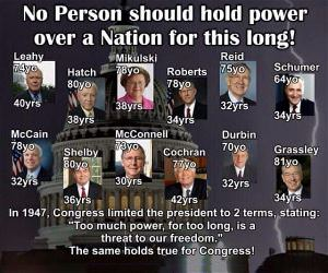 No Person Should Hold Power This Long