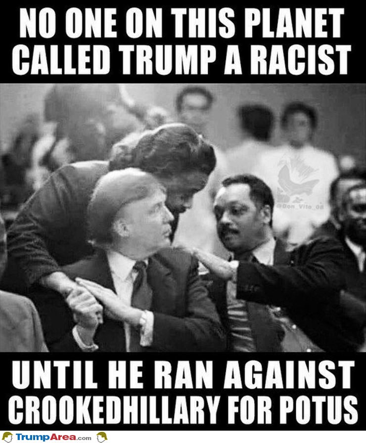 trump wasn't called racist until now - 500×696