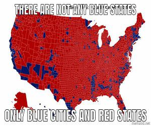 Not Any Blue States