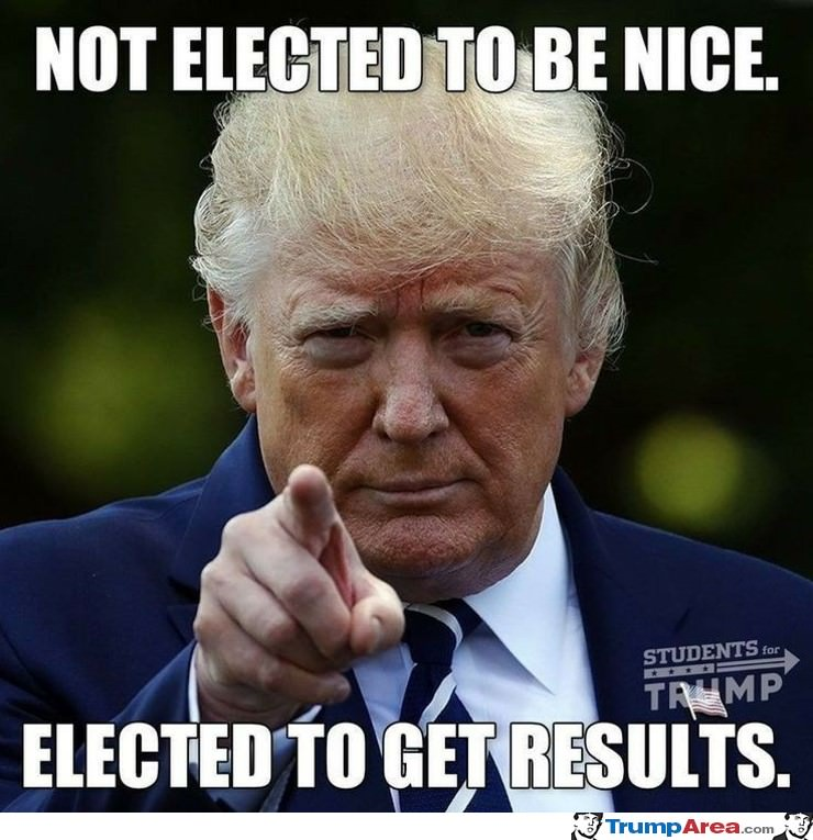 Not Elected To Be Nice