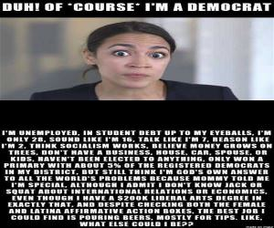 Of Course I Am A Democrat