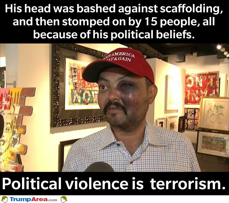 Political Violence Is Terrorism