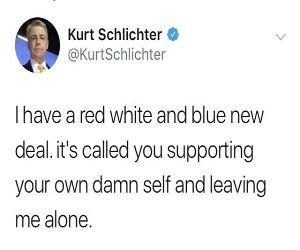 Red White And Blue New Deal