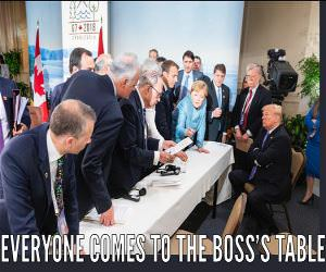 The Bosses Table