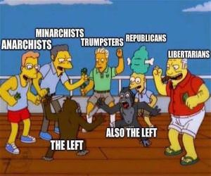 The Left Lately