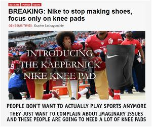The Nike Knee Pad