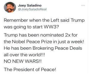 The President Of Peace