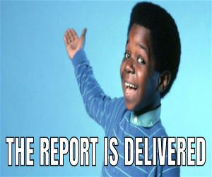 The Report Is Delivered