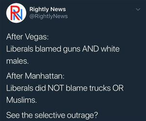 The Selective Outrage