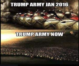 The Trump Army