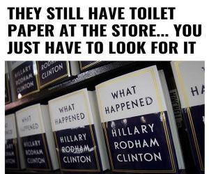 There Is Still Toilet Paper
