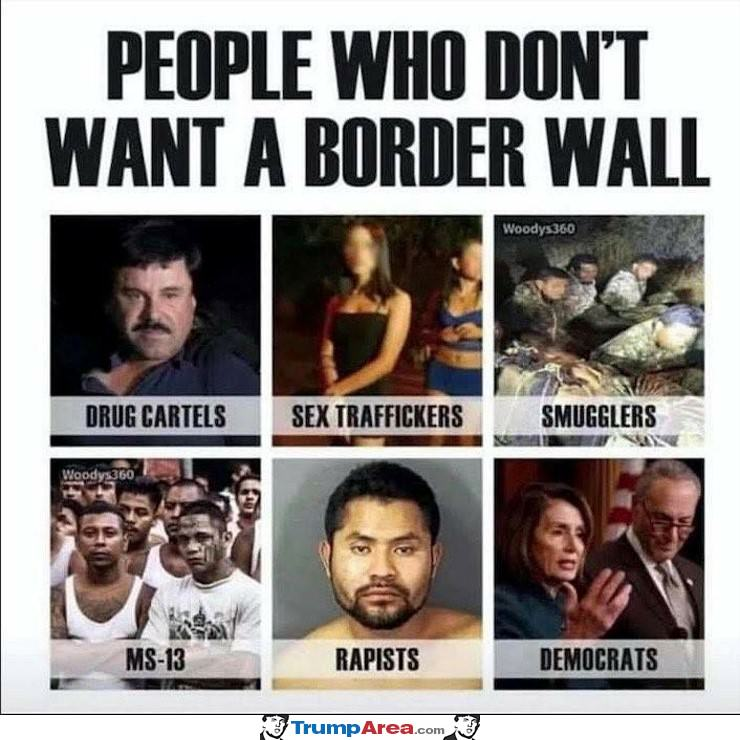 These People Do Not Want A Wall
